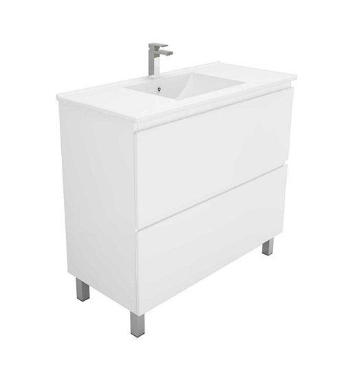 Newport 750 free standing bathroom vanity chatswood for Bathroom cabinet 750